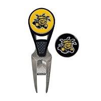 Team Effort Wichita State Shockers CVX Ball Mark Divot Repair Tool