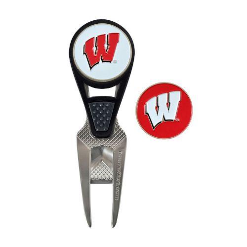 Team Effort Wisconsin Badgers CVX Ball Mark Divot Repair Tool