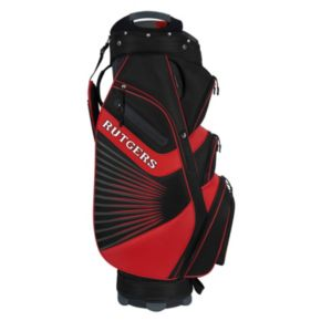 Team Effort Rutgers Scarlet Knights The Bucket II Cooler Cart Golf Bag