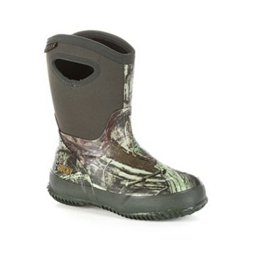 Rocky Mossy Oak Core Boys' Waterproof Boots