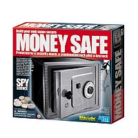 Toysmith 4M Spy Science Money Safe