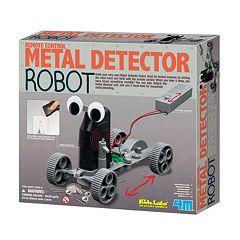 Toysmith 4M Kidz Labs Metal Detector Robot