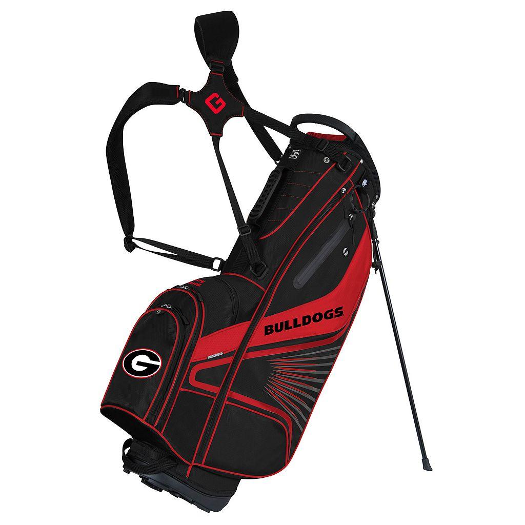 Team Effort Georgia Bulldogs Gridiron III Golf Stand Bag