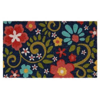 Mohawk® Home Flowering Swirls Blue Coir Doormat - 18'' x 30''