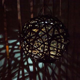 Echo Valley Lumisphere Solar LED Indoor / Outdoor Lantern