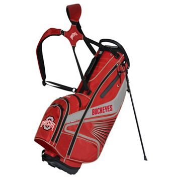 Team Effort Ohio State Buckeyes Gridiron III Golf Stand Bag
