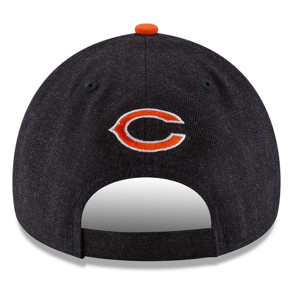 Adult New Era Chicago Bears 9FORTY The League Heather Adjustable Cap
