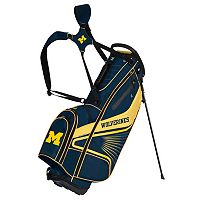 Team Effort Michigan Wolverines Gridiron III Golf Stand Bag