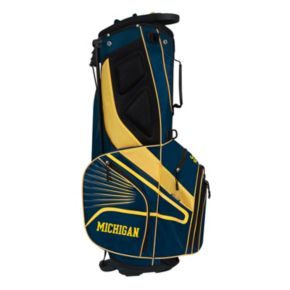 Team Effort Michigan Wolverines Gridiron III Golf Stand Bag