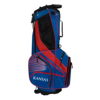 Team Effort Kansas Jayhawks Gridiron III Golf Stand Bag