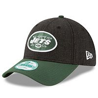Adult New Era New York Jets 9FORTY The League Heather Adjustable Cap