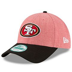 Adult New Era San Francisco 49ers 9FORTY The League Heather Adjustable Cap
