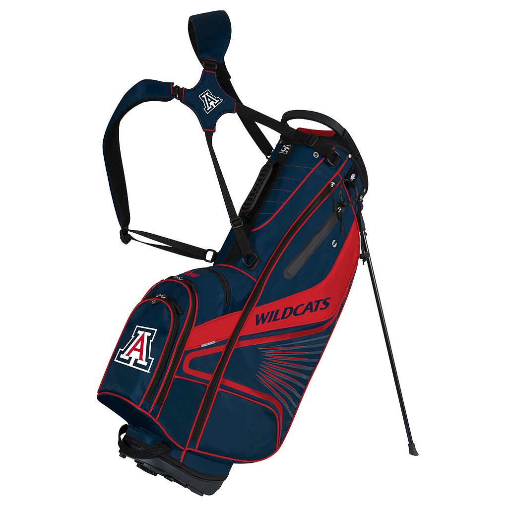 Team Effort Arizona Wildcats Gridiron III Golf Stand Bag
