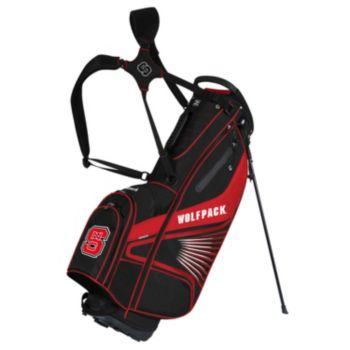 Team Effort North Carolina State Wolfpack Gridiron III Golf Stand Bag