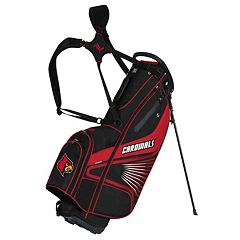 Team Effort Louisville Cardinals Gridiron III Golf Stand Bag