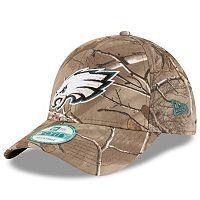 Adult New Era Philadelphia Eagles 9FORTY The League Camo Adjustable Cap