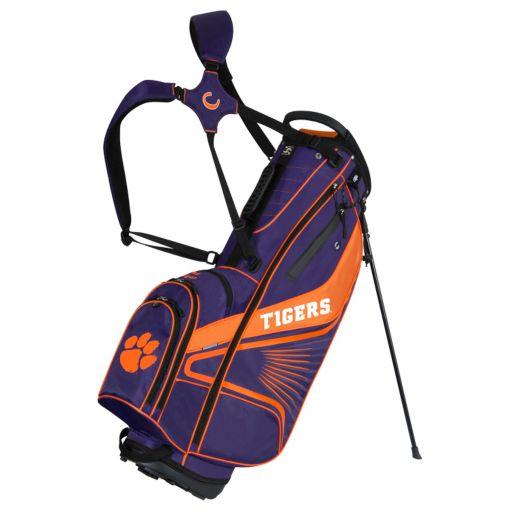 Team Effort Clemson Tigers Gridiron III Golf Stand Bag