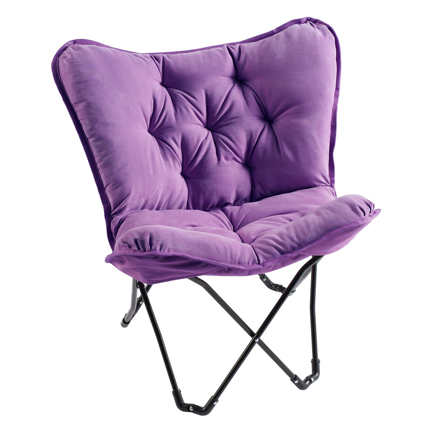 Simple By Design Memory Foam Butterfly Chair Multiple Colors From