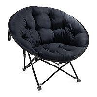 Simple Memory Foam Saucer Chair