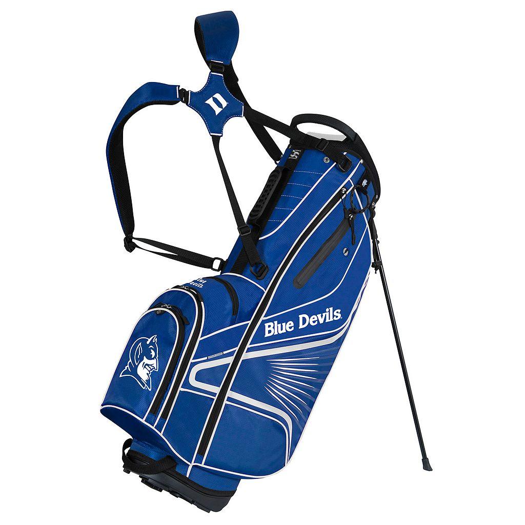 Team Effort Duke Blue Devils Gridiron III Golf Stand Bag