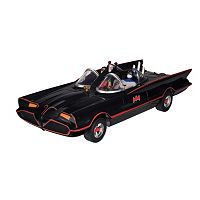 DC Comics Batman Classic Batmobile with Bendable Batman & Robin Action Figures by Toysmith