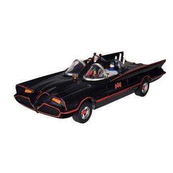 DC Comics Batman Classic Batmobile with Bendable Batman & Robin Action Figures by Toysmith