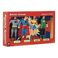 DC Comics Justice League Bendable Action Figure Boxed Set by Toysmith