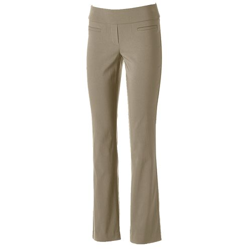 Women's Apt. 9® Brynn Modern Fit Bootcut Dress Pants