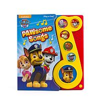 Paw Patrol PAWsome Songs Play-a-Song Book
