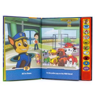Paw Patrol I'm Ready to Read with Chase Book