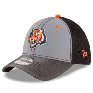 Adult New Era Cincinnati Bengals 39THIRTY Flashed Front Neo Flex-Fit Cap