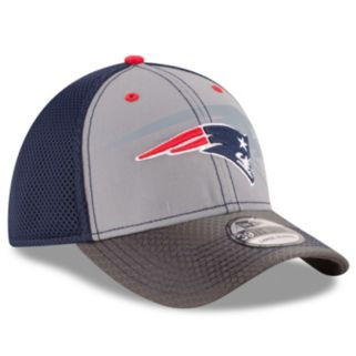 Adult New Era New EnglandPatriots 39THIRTY Flashed Front Neo Flex-Fit Cap