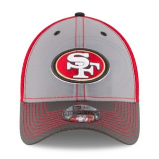 Adult New Era San Francisco 49ers 39THIRTY Flashed Front Neo Flex-Fit Cap