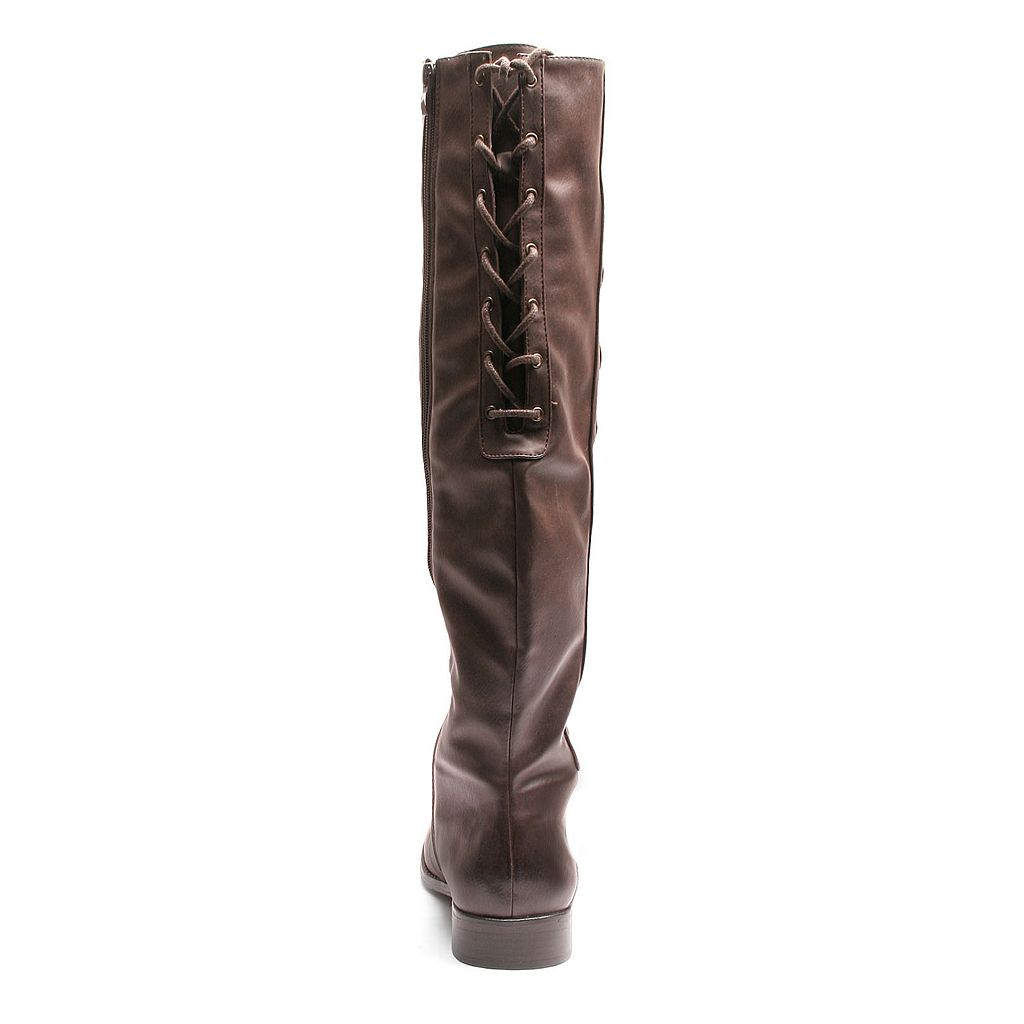 Kisses by 2 Lips Too Too Jostle Women's Over-The-Knee Boots