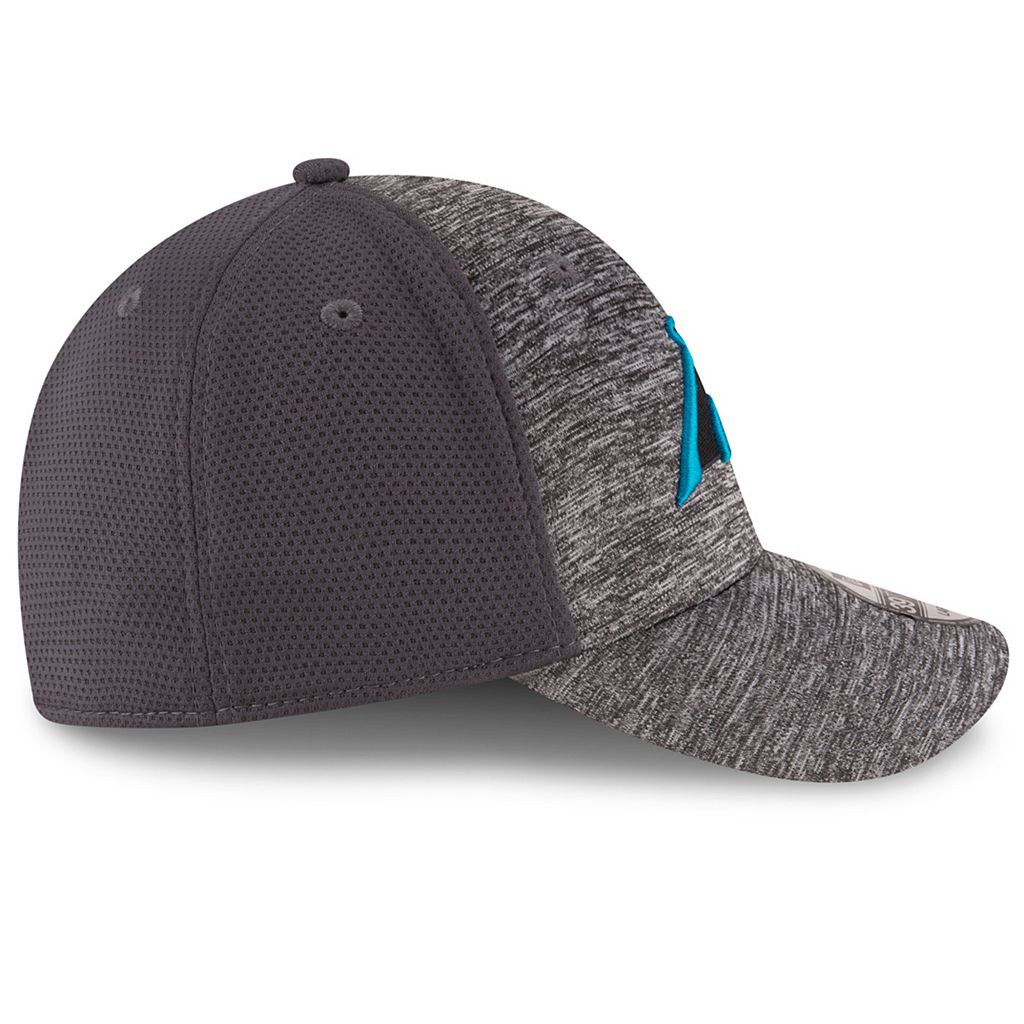 Adult New Era Carolina Panthers 39THIRTY Shadowed Fitted Cap