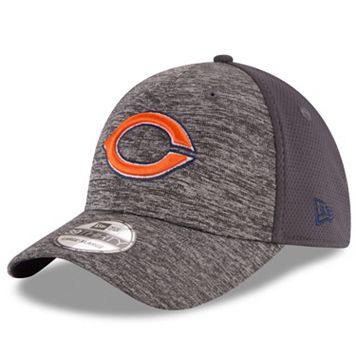Adult New Era Chicago Bears 39THIRTY Shadowed Fitted Cap