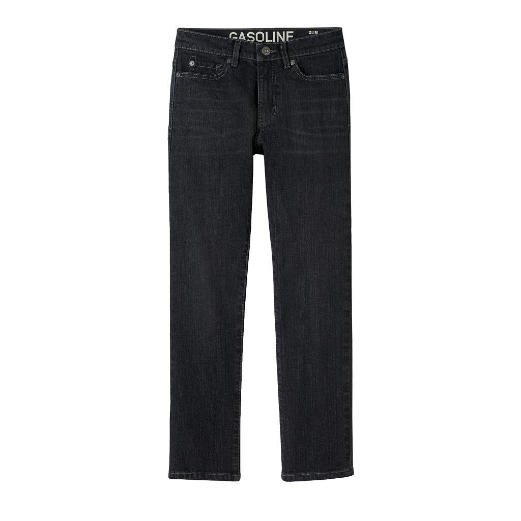 Boys 8-20 Gasoline Stretch Slim-Fit Straight-Leg Jeans