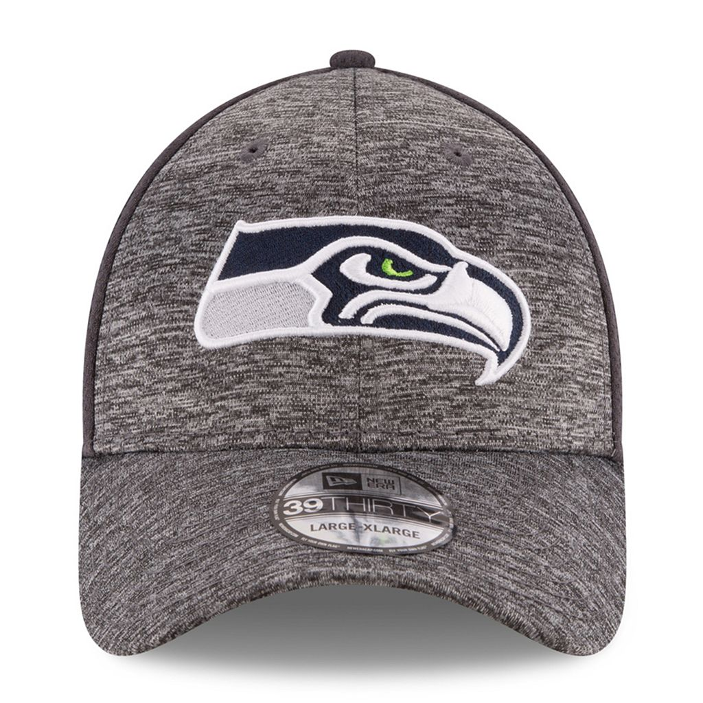 Adult New Era Seattle Seahawks 39THIRTY Shadowed Fitted Cap