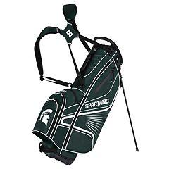 Team Effort Michigan State Spartans Gridiron III Golf Stand Bag