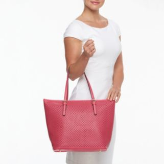 Mellow World Christina Perforated Tote