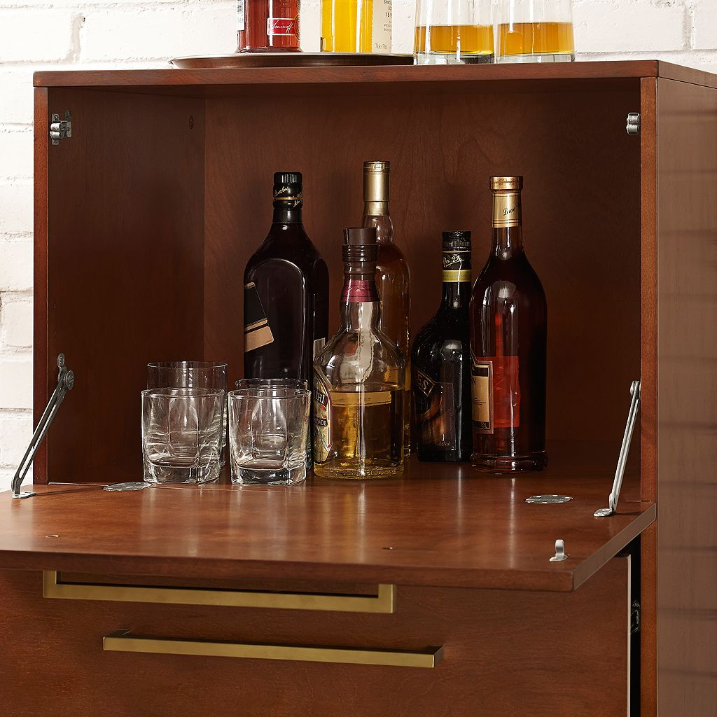 Everett Spirits Bar Cabinet