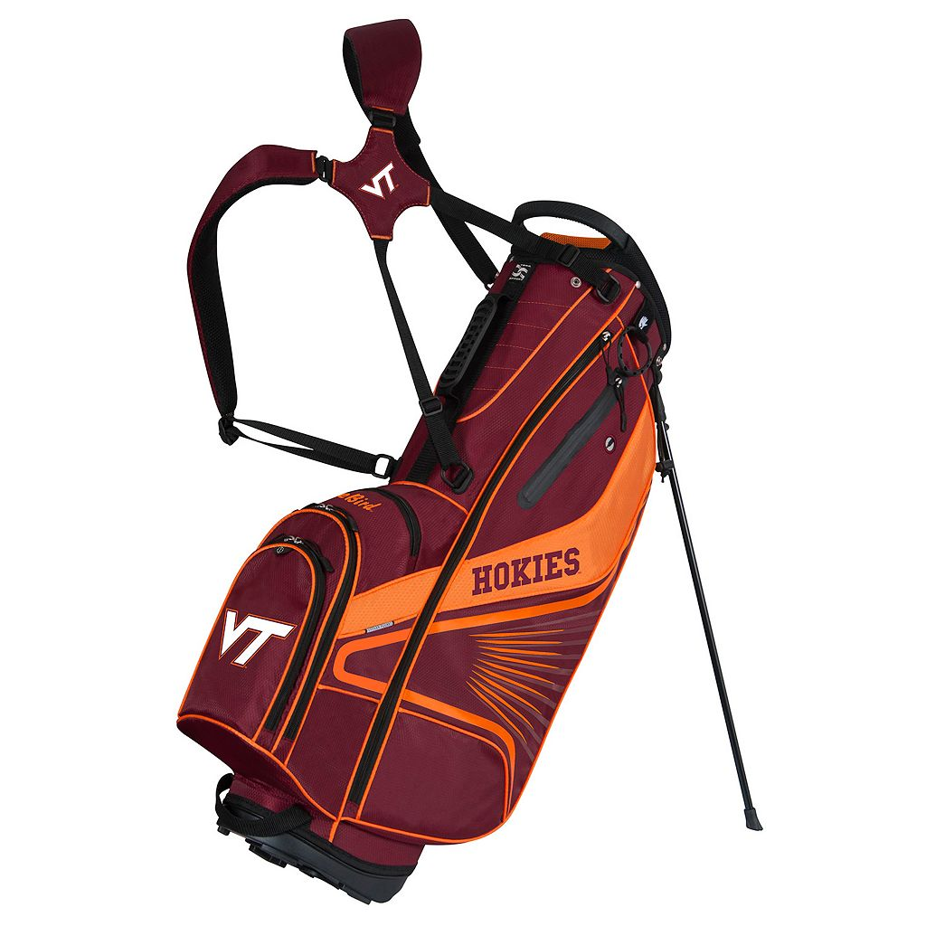 Team Effort Virginia Tech Hokies Gridiron III Golf Stand Bag