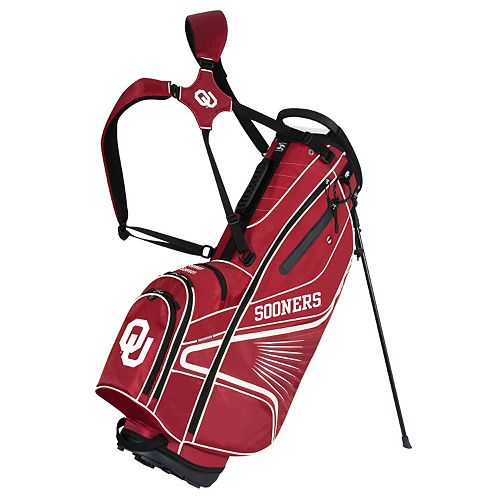 Team Effort Oklahoma Sooners Gridiron III Golf Stand Bag