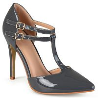 Journee Collection Tru Women's T-Strap High Heels