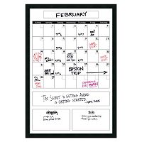 Amanti Art Mezzanotte Big Dry Erase Calendar Wall Decor