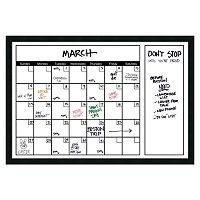 Amanti Art Mezzanotte Large Dry Erase Calendar Wall Decor