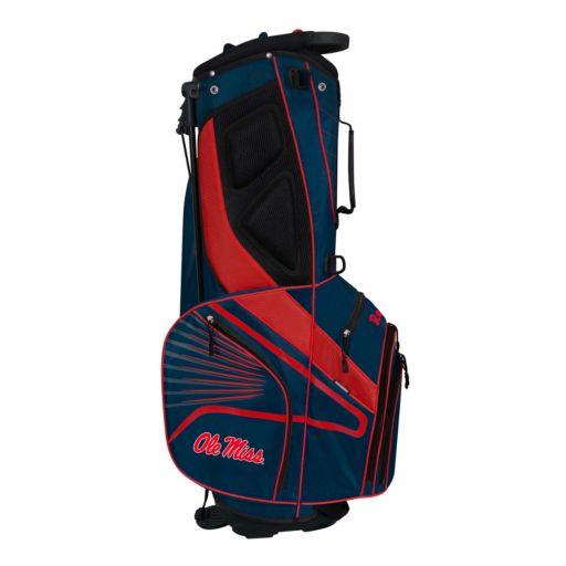 Team Effort Ole Miss Rebels Gridiron III Golf Stand Bag