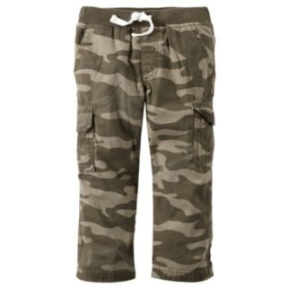 Baby Boy Carter's Camouflage Cargo Pants