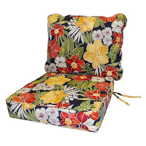Greendale Home Fashions Deep Seat Patio Chair Cushion 2-piece Set - Home Fashions Deep Seat Patio Chair Cushion 2-piece Set