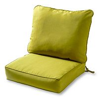 Greendale Home Fashions Deep Seat Patio Chair Cushion 2 pc Set
